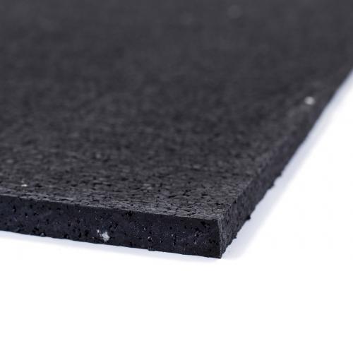 TRINFIT Sportovní gumová podlaha do fitness_deska_200_100_černá_detailg