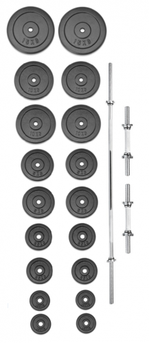 Set činek TRINFIT PREMIUM XL kovový 120 kg