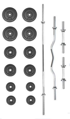 Činkový set TRINFIT PREMIUM XL kovový 60 kg