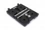 TRINFIT Činky jednoručky v kufříku 2x 10 kg 30 mm otevřenýg