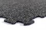 TRINFIT Sportovní gumová podlaha do fitness_puzzle_20% šedág