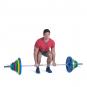 Olympijská činka 135 kg pogumovaná 03g