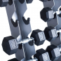 TRINFIT Dumbbell Rack Tower FK01 detail činky 1