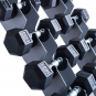 TRINFIT Dumbbell Rack Tower FK01 detail činky
