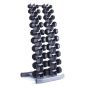 TRINFIT Dumbbell Rack Tower FK01 s činkami