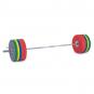 Olympijská činka TRINFIT 230 kg Bumper CrossGym 3